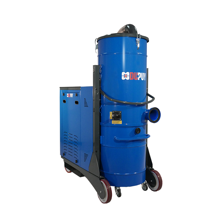 MHD 100 - Heavy Duty Three Phase industrial vacuum cleaner for central vacuum systems