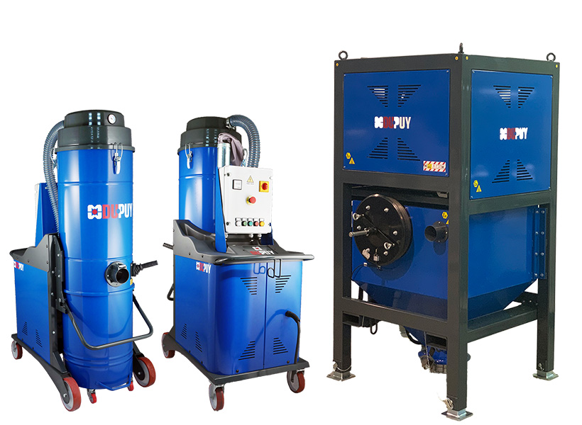 industrial vacuum cleaner for sand blasting